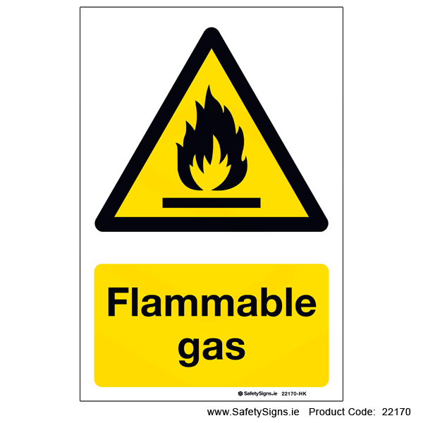 Flammable Gas - 22170