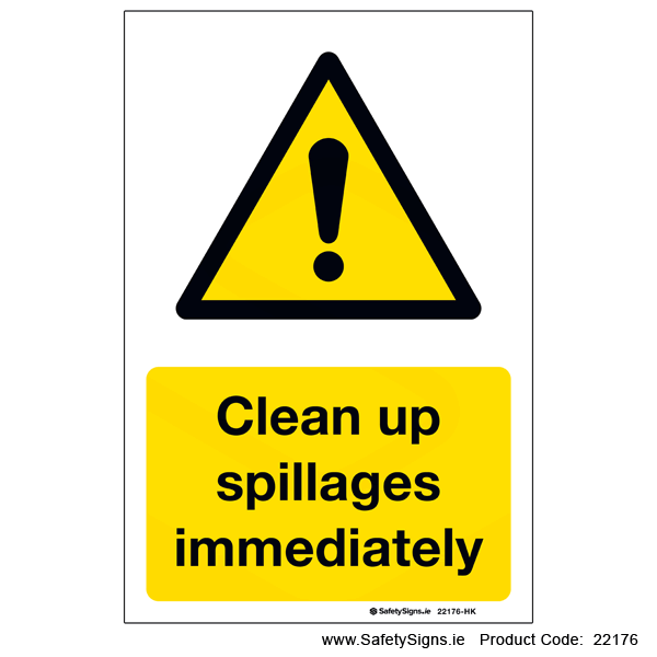 Clean Up Spillages - 22176