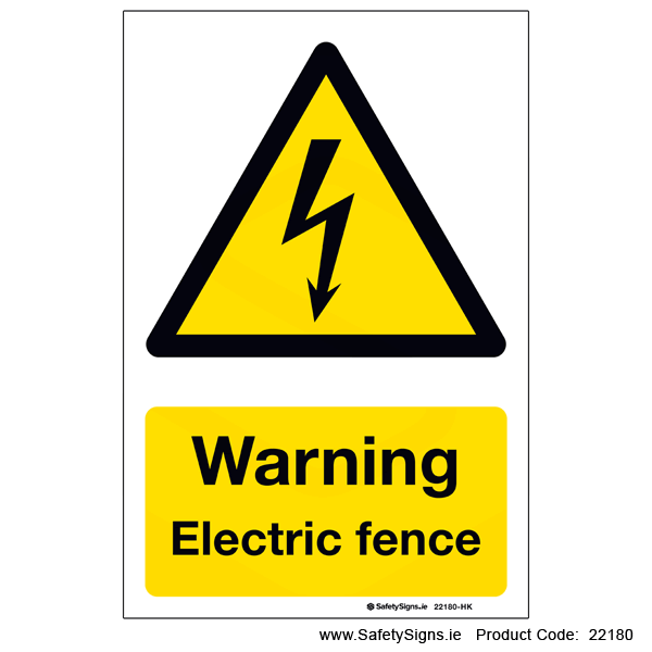 Electric Fence - 22180