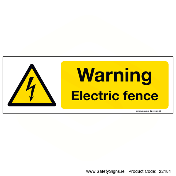 Electric Fence - 22181