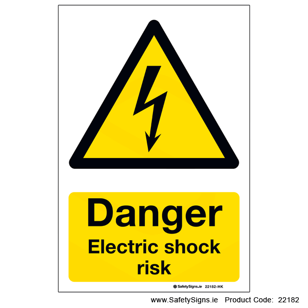 Electric Shock Risk - 22182