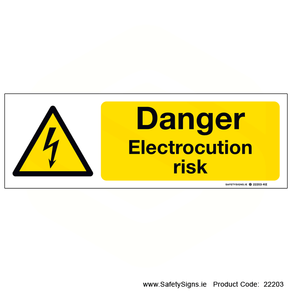 Electrocution Risk - 22203