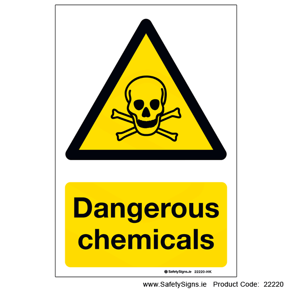 Dangerous Chemicals - 22220