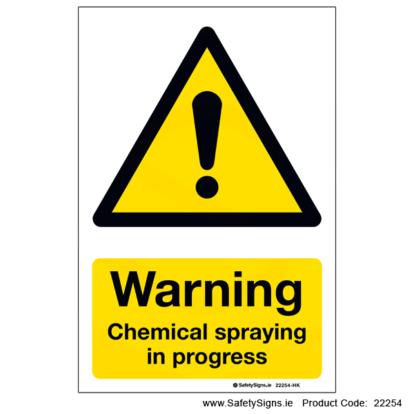 Chemical Spraying - 22254