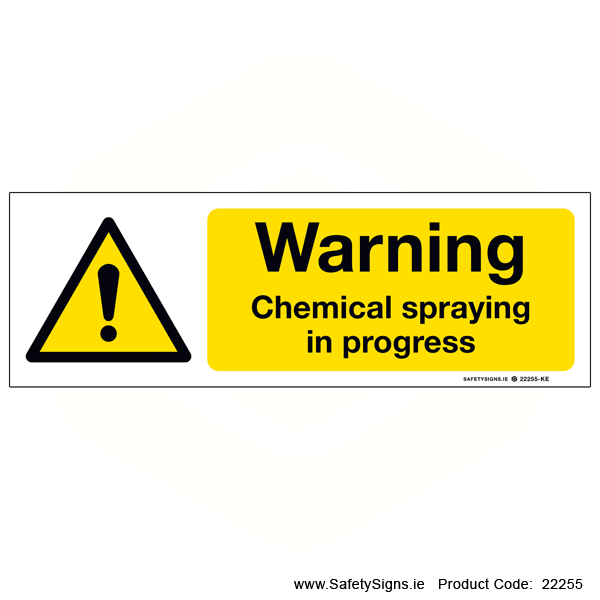 Chemical Spraying - 22255