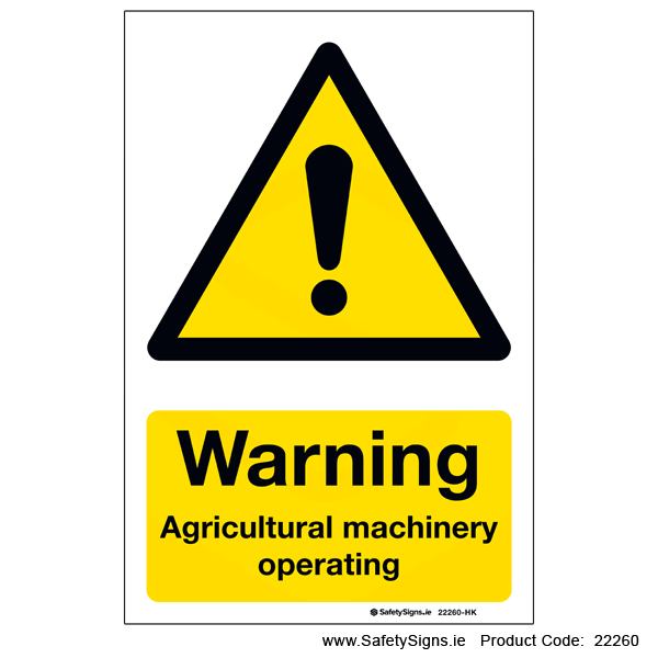 Agricultural Machinery Operating - 22260