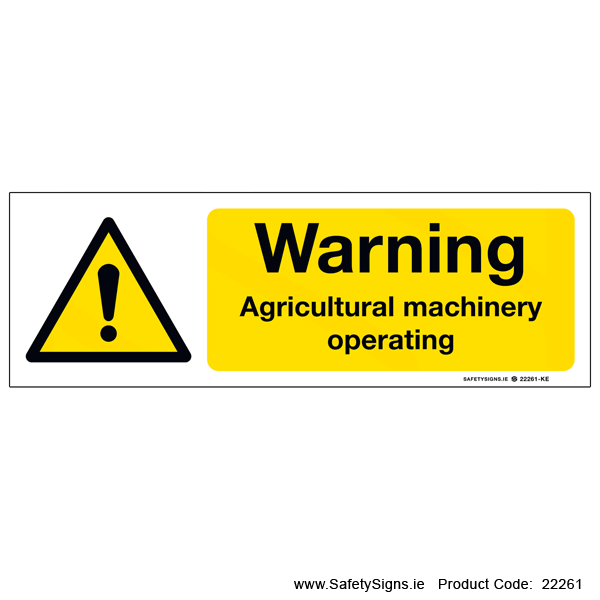 Agricultural Machinery Operating  - 22261