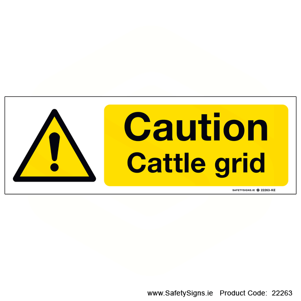 Cattle Grid - 22263