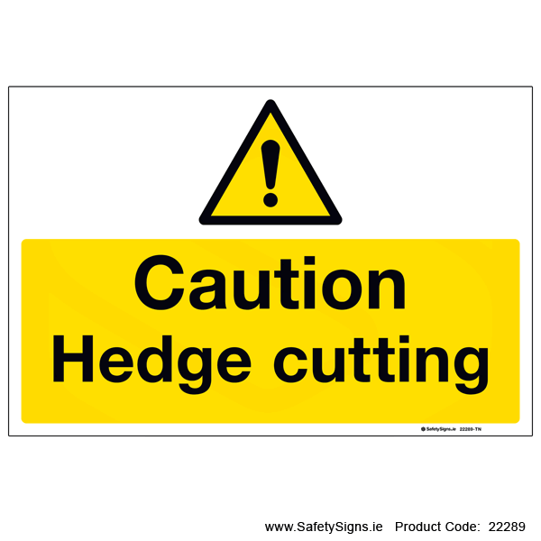 Hedge Cutting - 22289