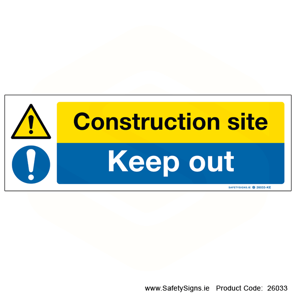 Construction Site - 26033