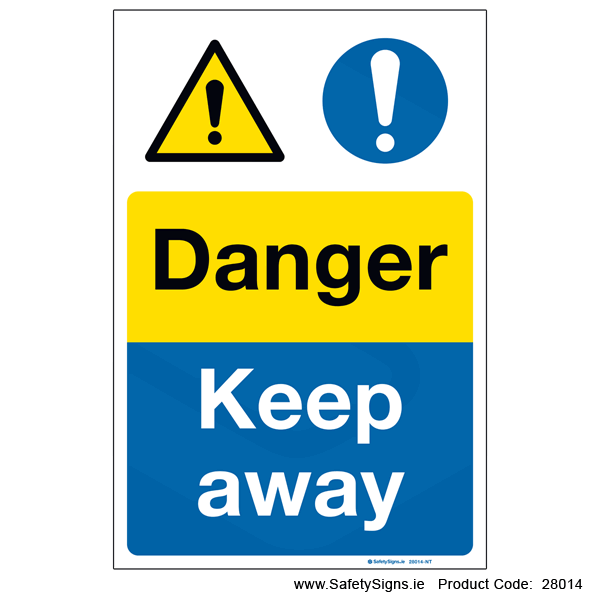 Danger Keep Away - 28014