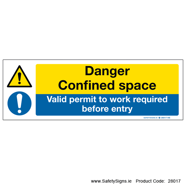 Confined Space - 28017