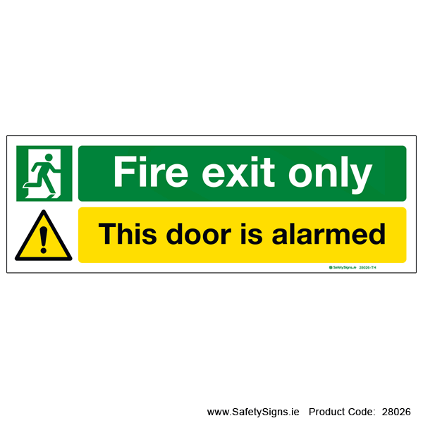 Fire Exit Only - 28026