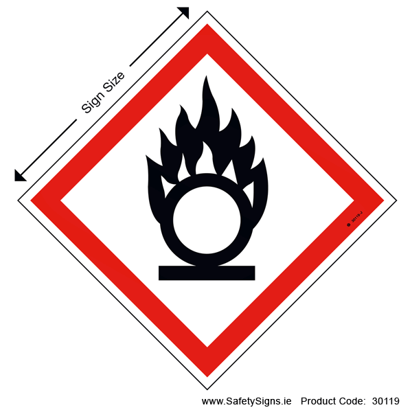 GHS - Oxidizers - 30119