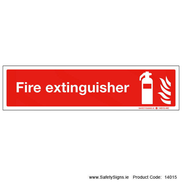 Fire Extinguisher - 14015