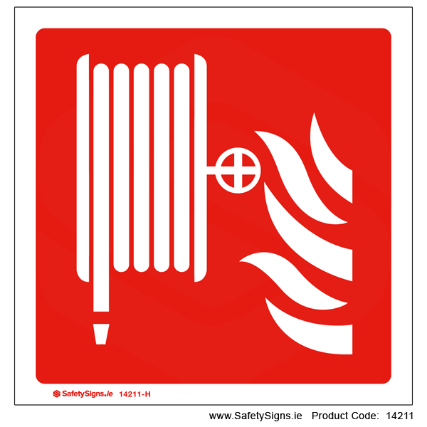 Fire Hose Reel - PanoSign - 14211