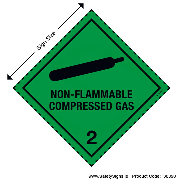 Class 2.2 - Non-Flammable Compressed Gas - 30090