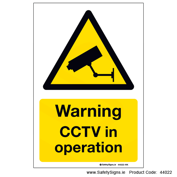 CCTV in Operation - 44022