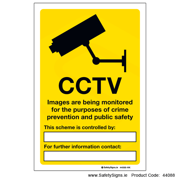 CCTV Data Protection Information - 44088