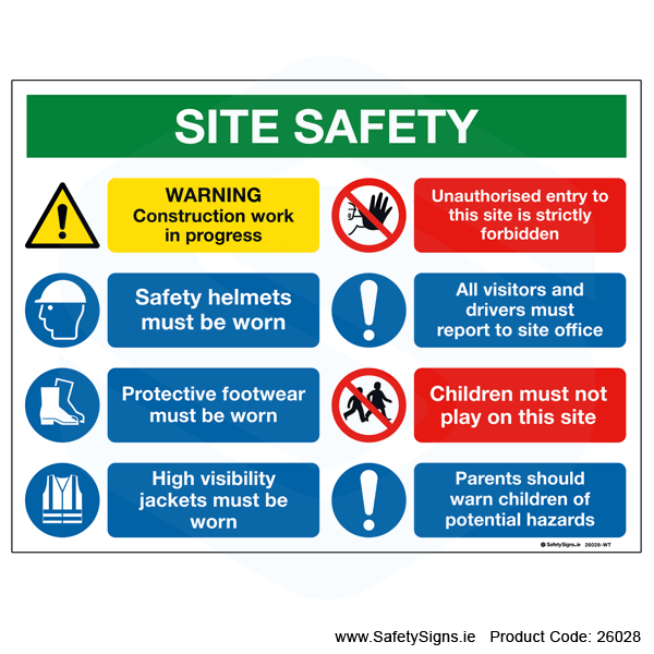 Site Safety Notice - 26028
