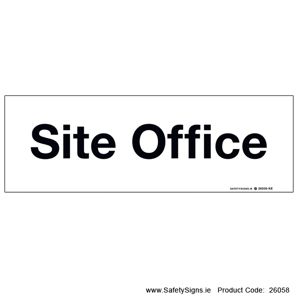 Site Office - 26058