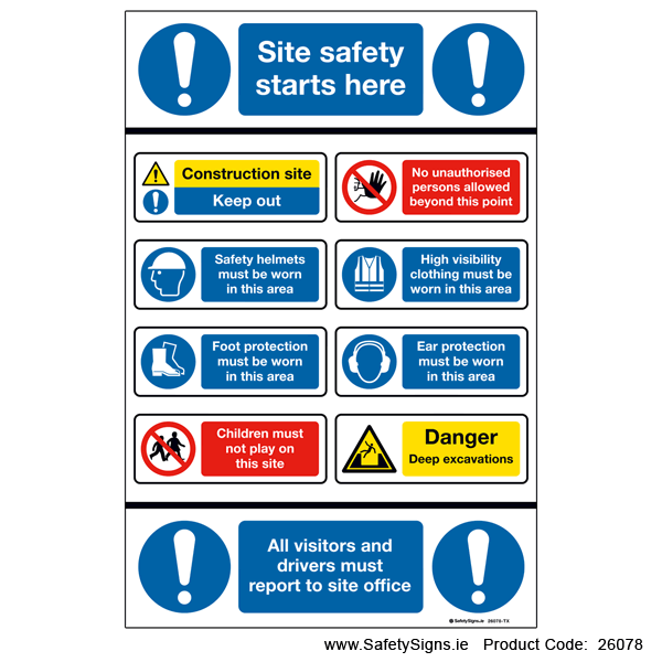 Site Safety Notice - 26078