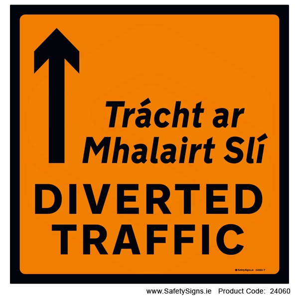 Diverted Traffic - Straight Ahead - WK091 - 24060