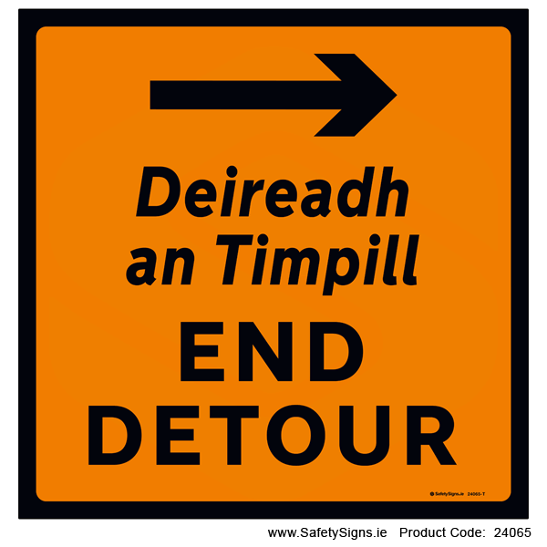 End Detour - Right - 24065