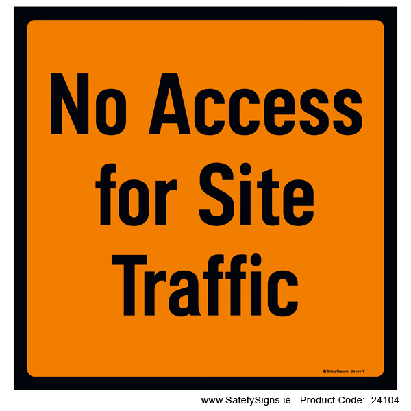 No Access for Site Traffic - 24104