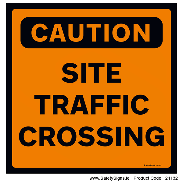 Site Traffic Crossing - 24132