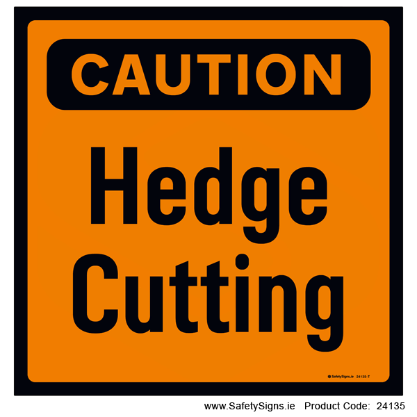 Hedge Cutting - 24135