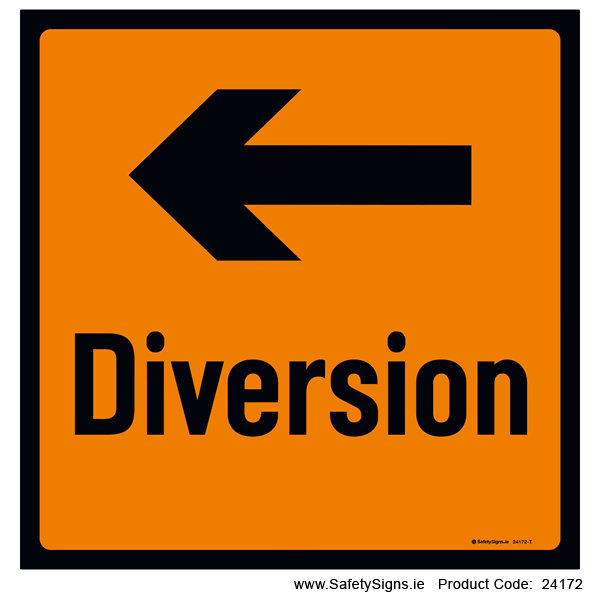 Diversion - Arrow Left - 24172