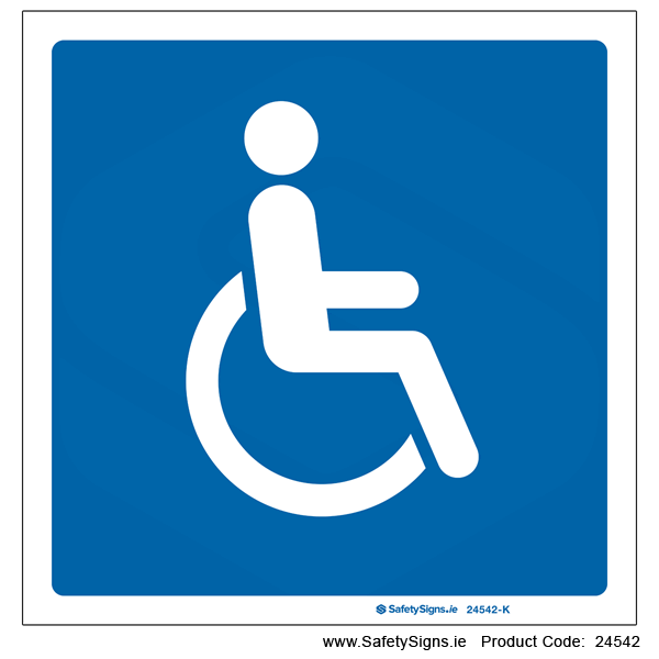 Disabled Parking - 24542