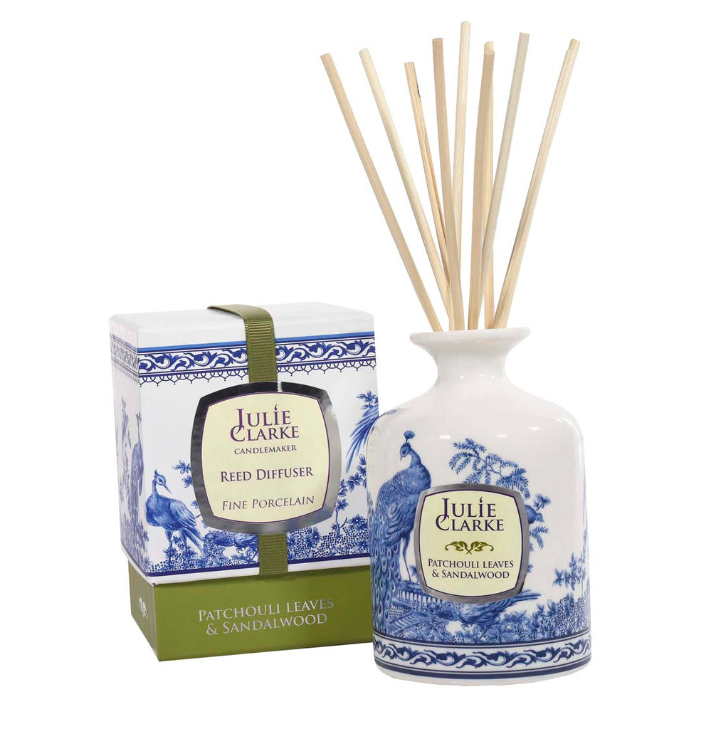 JULIE CLARKE - PATCHOULI LEAVES & SANDALWOOD DIFFUSER