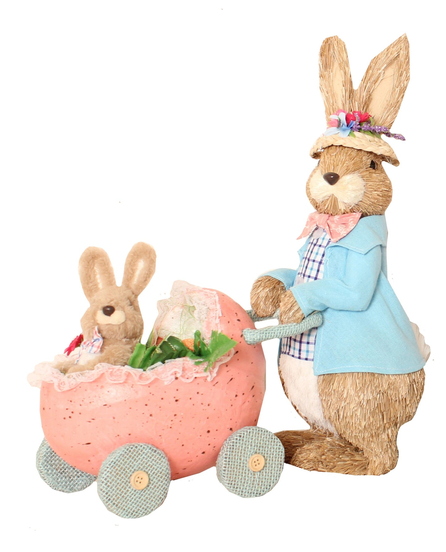 Easter Mr Peter Rabbit with Pram