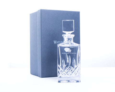 Ashford Castle Waterford Crystal Decanter