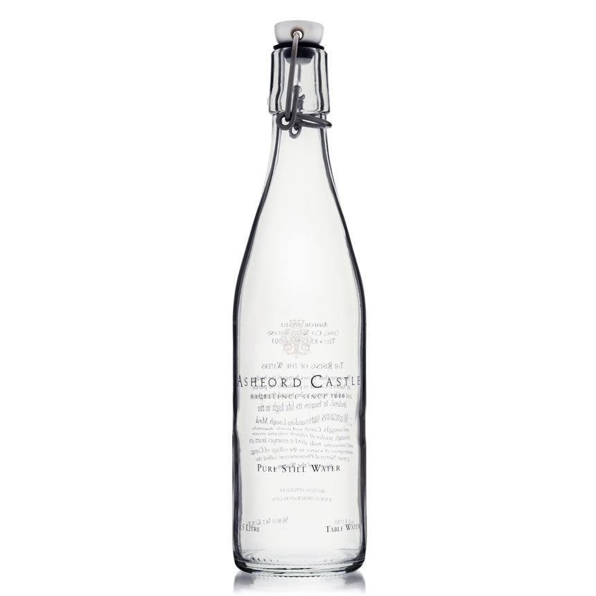Ashford Castle Glass Water Bottle