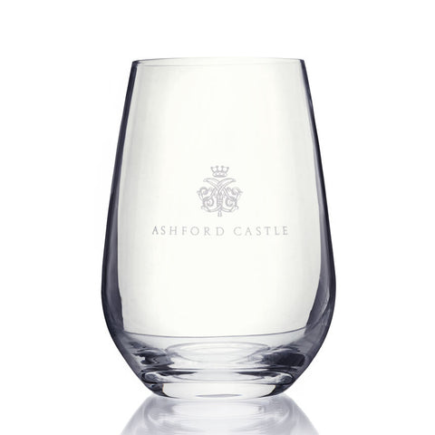 Ashford Crested Glass Tumbler
