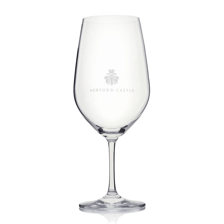Ashford Crested Wine Glass