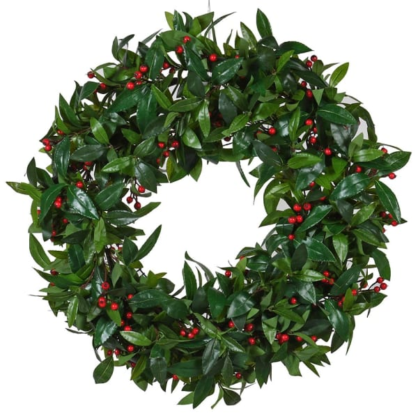 Bay Leaf With Berries Wreath