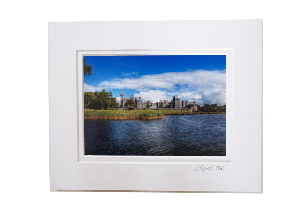 Photographic Print of Ashford Castle - Lake View
