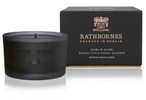 RATHBORNES - RATHBORNES / BEYOND THE PALE DUBLIN DUSK   SCENTED CANDLE