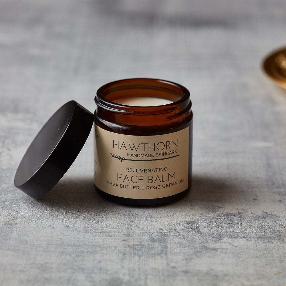 Rejuvenating Face Balm (Shea Butter + Rose Geranium)