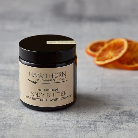 Nourishing Body Butter , Shea Butter + Sweet Orange