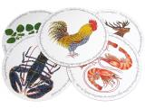 Richard Bramble Shell Fish and Fish Table Mats