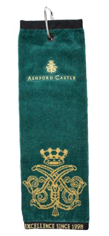 Ashford Castle Crested Golf Towel