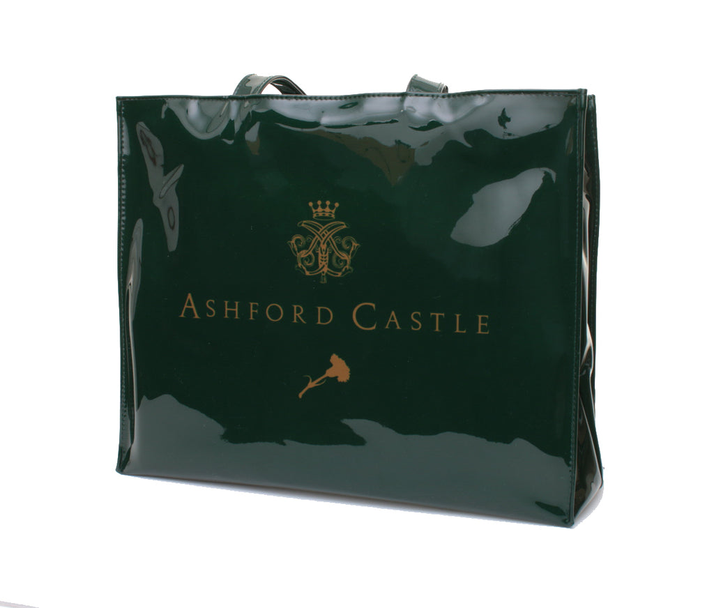 Ashford Castle Green - Shoulder Vinyl Bag