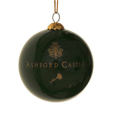 Ashford Castle Green - Christmas Bauble