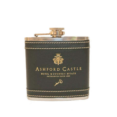 Ashford Castle Hip Flask