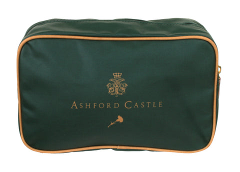 Ashford Castle Green - Wash Bag
